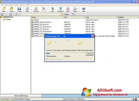 Screenshot PowerISO for Windows 10