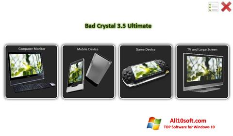 Screenshot Bad Crystal for Windows 10