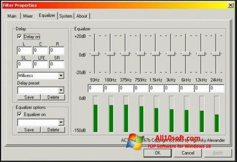 Screenshot AC3 Codec for Windows 10