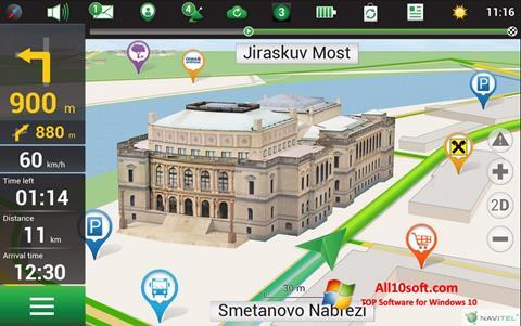 Screenshot Navitel Navigator for Windows 10