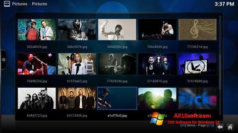 Screenshot Kodi for Windows 10
