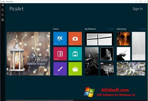 Screenshot PicsArt for Windows 10
