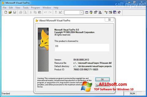 Download Microsoft Visual FoxPro for Windows 10 (32/64 bit