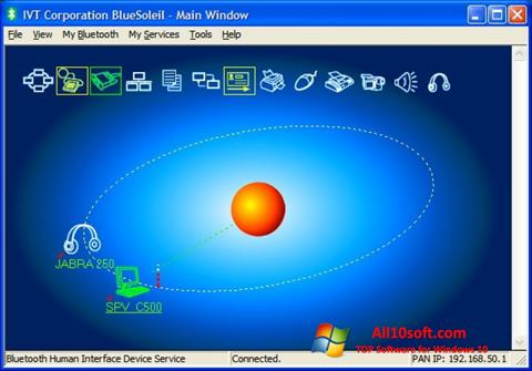Screenshot BlueSoleil for Windows 10