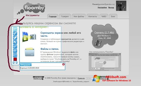 Screenshot Floomby for Windows 10