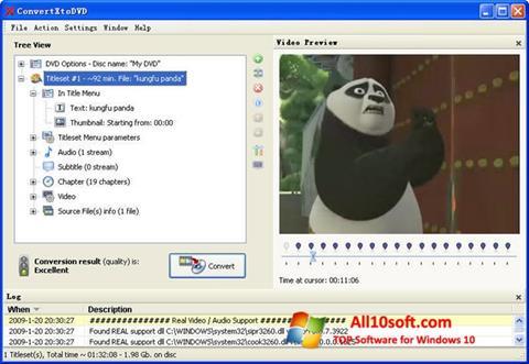 Screenshot ConvertXToDVD for Windows 10