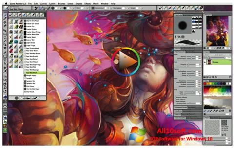 Screenshot Corel Painter for Windows 10