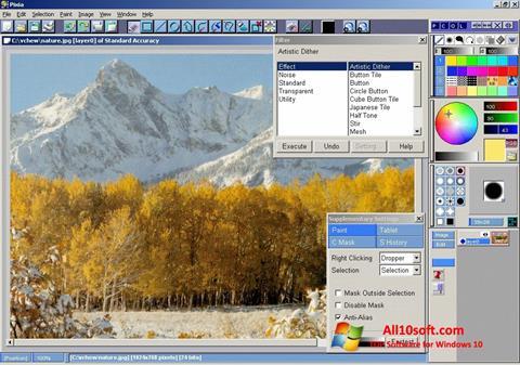Screenshot Pixia for Windows 10