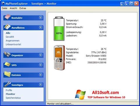 Screenshot MyPhoneExplorer for Windows 10