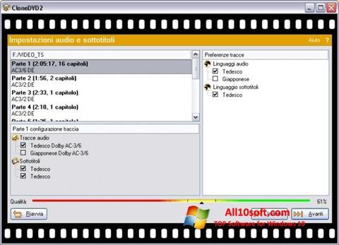 Screenshot CloneDVD for Windows 10