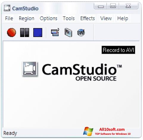 Screenshot CamStudio for Windows 10