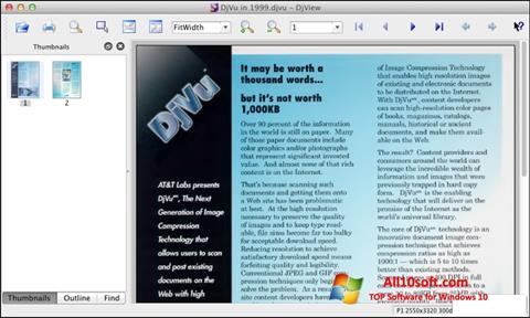 Screenshot DjView for Windows 10