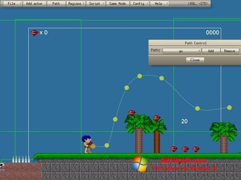 Screenshot Game Editor for Windows 10