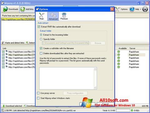 Screenshot Mipony for Windows 10