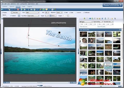 Screenshot Ashampoo Photo Commander for Windows 10
