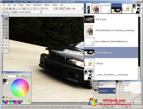 Screenshot Paint.NET for Windows 10