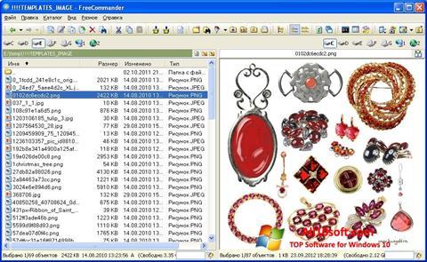 Screenshot FreeCommander for Windows 10