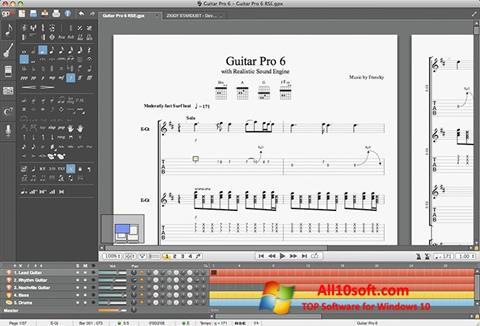 Screenshot Guitar Pro for Windows 10