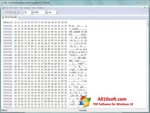 Download Hex Editor for Windows 10 (32/64 bit) in English